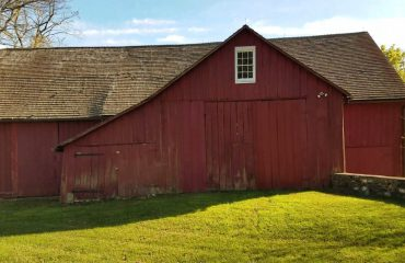 A Classic Chester County Bank Barn