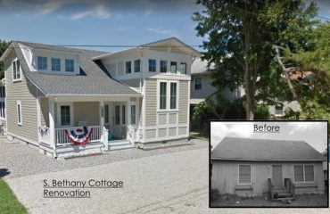 Transformation of a Bethany Beach cottage.