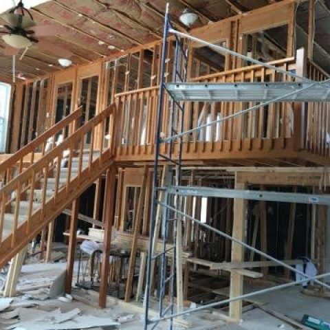 Bethany Beach House Reconfiguration