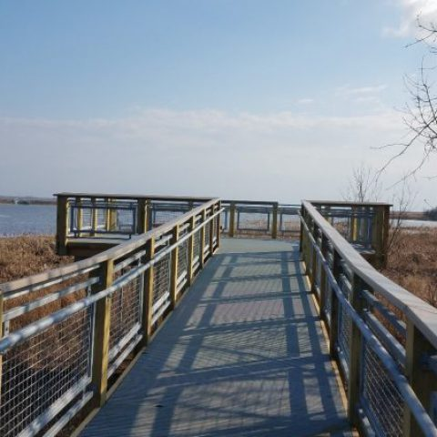 Boardwalk completed with an astounding view!