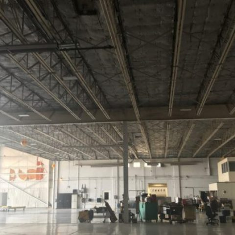 Inspection of Hangar Roof Framing
