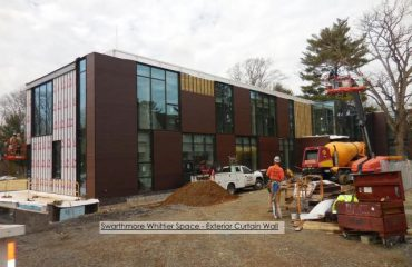 Swarthmore College Exterior Curtain Wall Design
